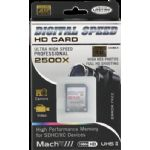Digital Speed 2500X 512GB Professional High Speed Mach III 350MB/s Error Free (SDHC) HD Memory Card Class 10